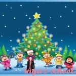 Задание по английскому языку для детей «Merry Christmas»