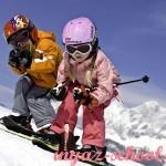 Задания по английскому для детей «What do kids do in winter?» в карточках