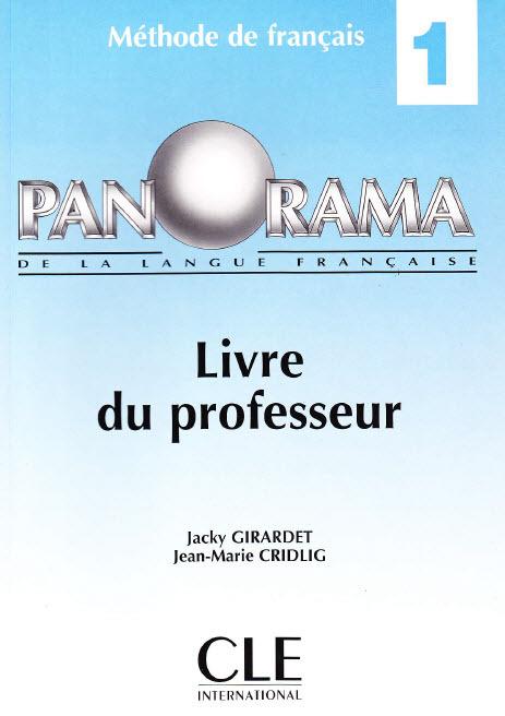 livre du professeur Panorama 1 Methode de  Francais