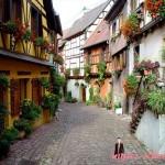 Eguisheim — красивая французская деревня из Les Plus Beaux Villages de France