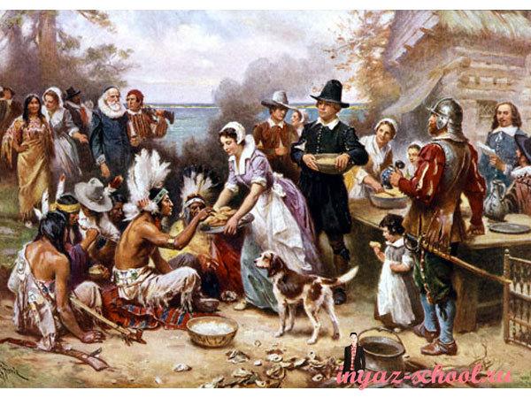 День Благодарения история праздника, его традиции и символы