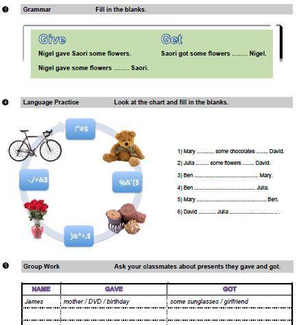 Практические задания по английскому языку
