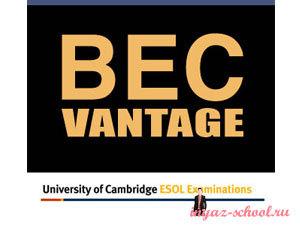 BEC Vantage