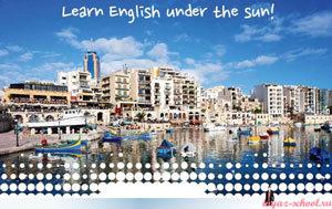 изучение английского на Мальте