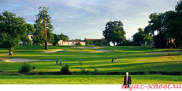 гольф на юге Франции