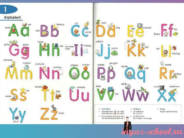 Английский алфавит для детей от Longman