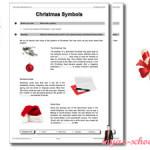 Рождественские упражнения для уровня Pre-Intermediate