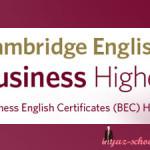BEC Higher: общая информация для кандидатов, образец теста + аудио