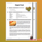 Organic Food: задание по английскому языку для уровня Advanced
