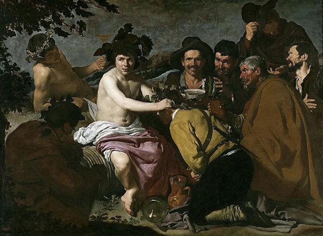 Веласкес - Пьяницы, или Торжество Вакха