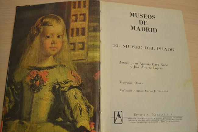 Книга из Музея Эль Прадо.