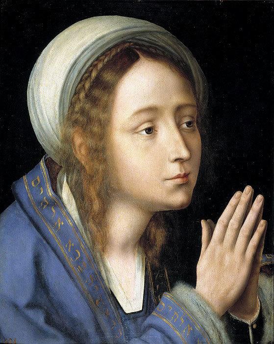 Массейс, Квентин - Дева Мария