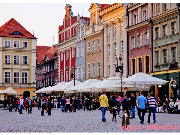 площадь старого рынка в Познани
