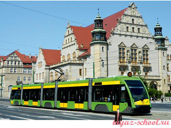 трамвай в Познани