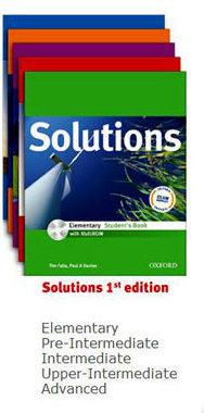 Серия учебников Solutions 1