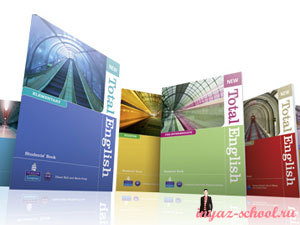 Популярные учебники new total english по английскому языку