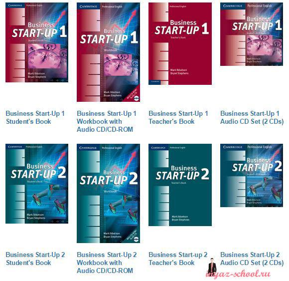 Серия учебников делового английского языка Business Start Up