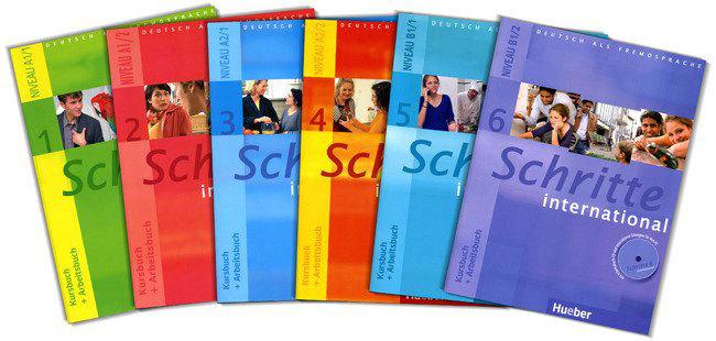 Учебники Schritte international где купить