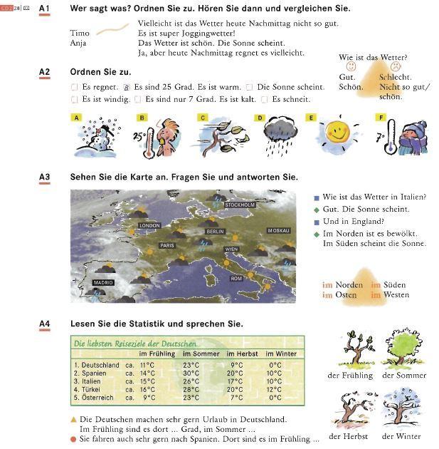 ключи к учебнику schritte international