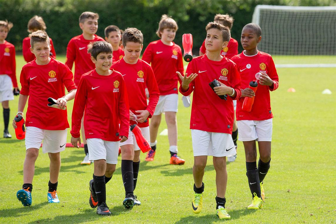 Manchester-United футбольные лагеря для детей