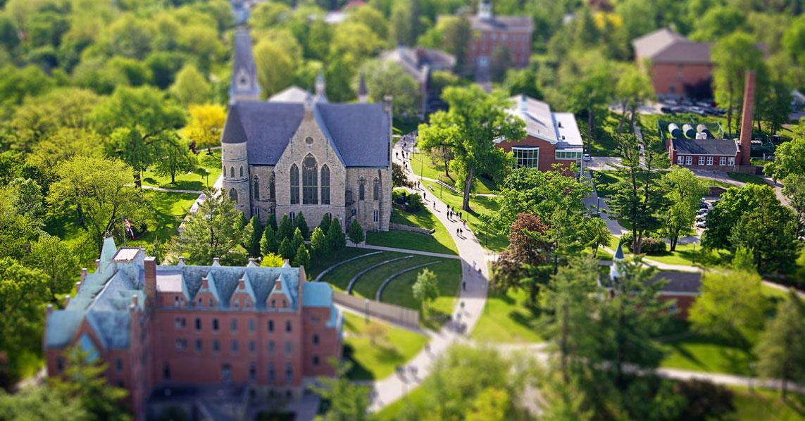 Cornell University фото кампуса