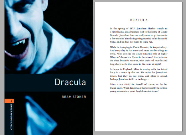Дракула-на-английском