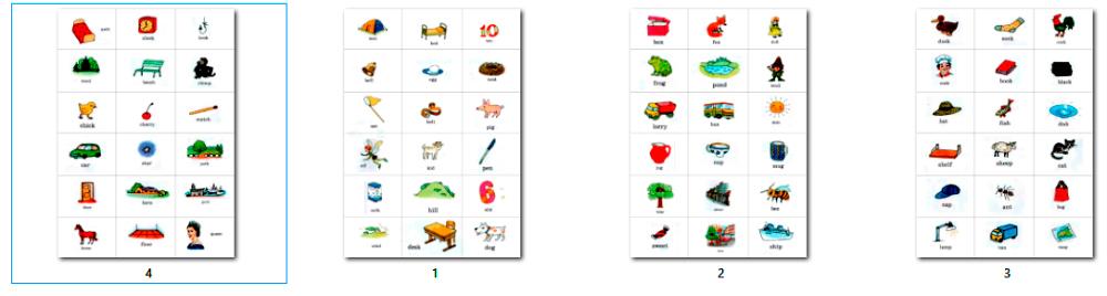 карточки сло словами к учебнику Афанасьевой 2 класс