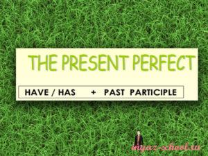 present perfect упражнения